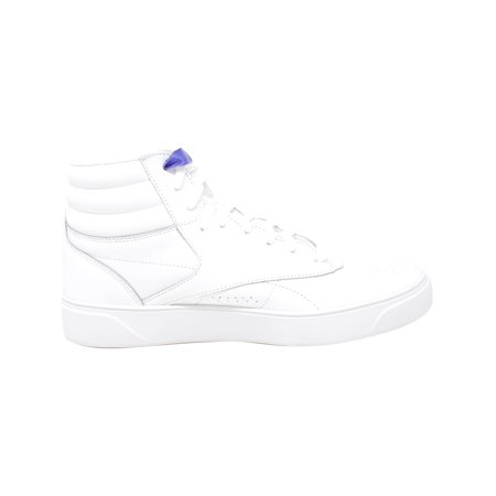 Reebok Women's F/S Hi Nova White / Ultra Purple High-Top Leather Fashion Sneaker - 10.5M - image 1 of 2