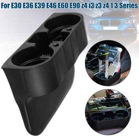 Front Cup Holder Black For BMW E30 E36 E39 E46 E60 E90 Z4 I3 Z3 328i 1 3 Series