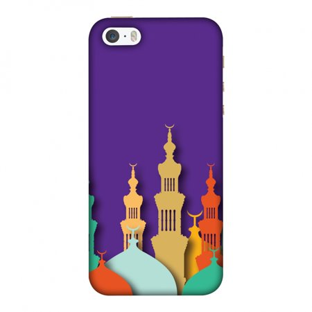 iPhone 5S Case, iPhone 5 Case - Places Of Worship 2,Hard Plastic Back Cover, Slim Profile Cute Printed Designer Snap on Case with Screen Cleaning (Best Place To Repair Iphone 5 Screen)