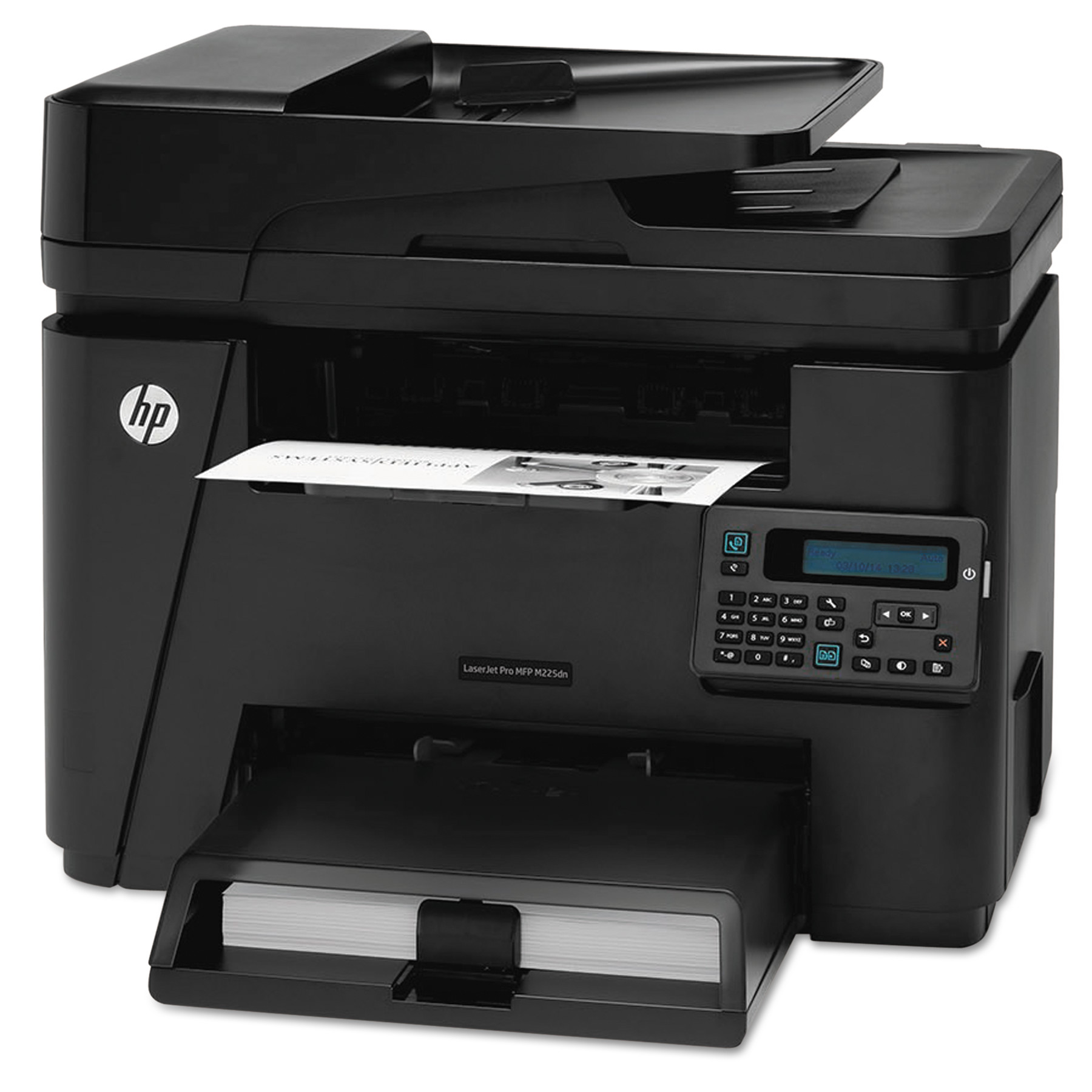 HP LaserJet Pro MFP M225DN Multifunction Laser Printer, Copy/Fax/Print/