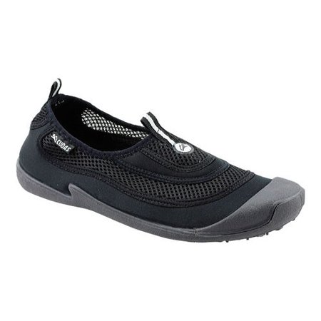 Image of Cudas Mens Flatwater Mesh And Fabric Water Shoe, Black, US 8