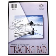 Norcom Inc 78947-12 9 in. X 12 in. Tracing Pad