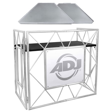 American DJ Pro Event Table II Foldable Portable DJ Booth Truss