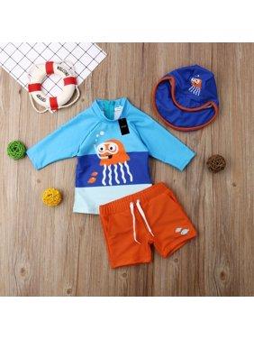 Toddler Kid Baby Boys Bikini Set Swimwear Swimsuit Bathing Suit Surf UV Sunsuit