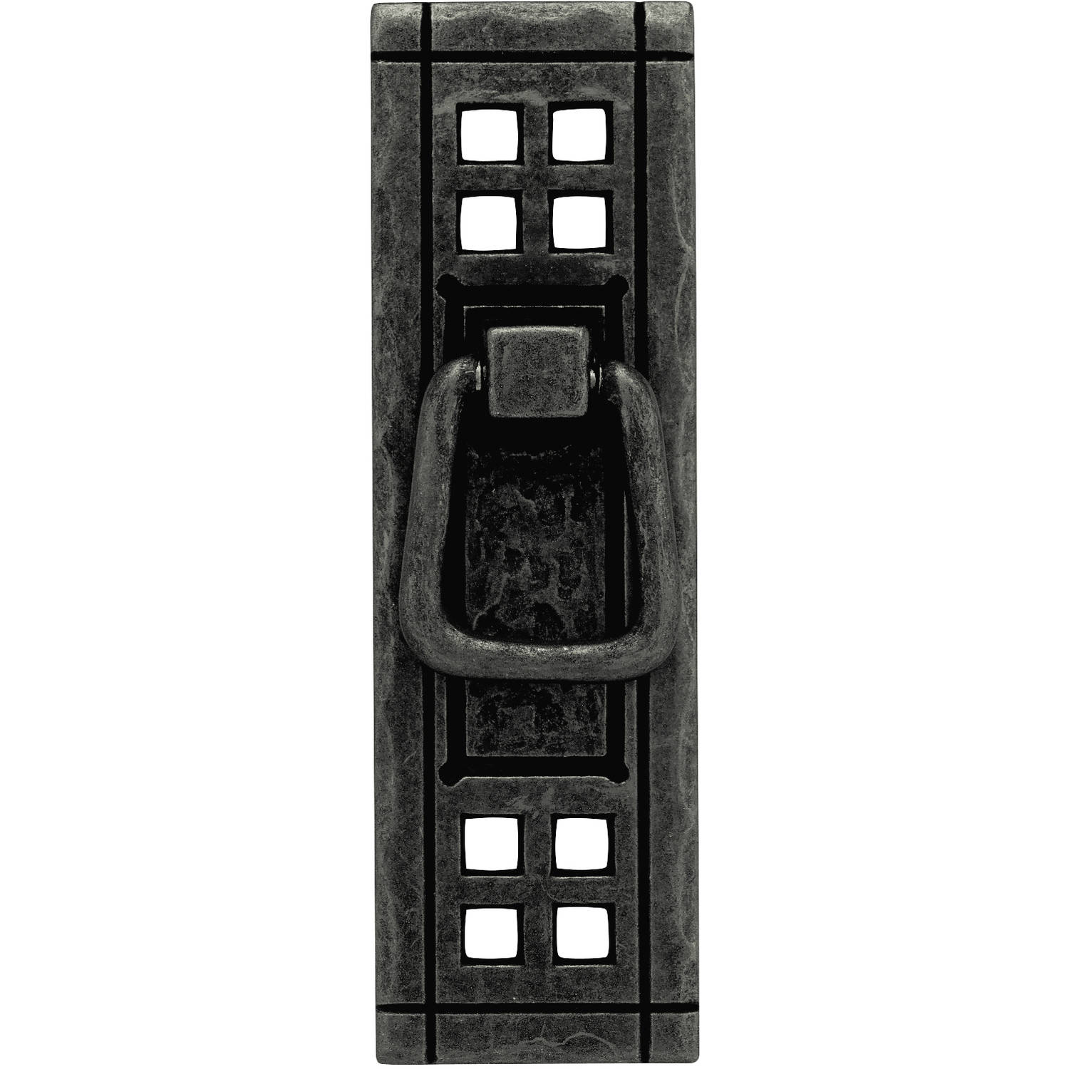 Liberty 104mm x 38mm Vertical Bail and Backplate Pull, Mixed Finishes