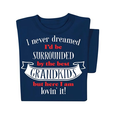 Mens Halloween Costumes Ideas Homemade (Best Grandkids Navy Novelty T-Shirt with Crew Neckline - Gift Idea for Grandpa or)