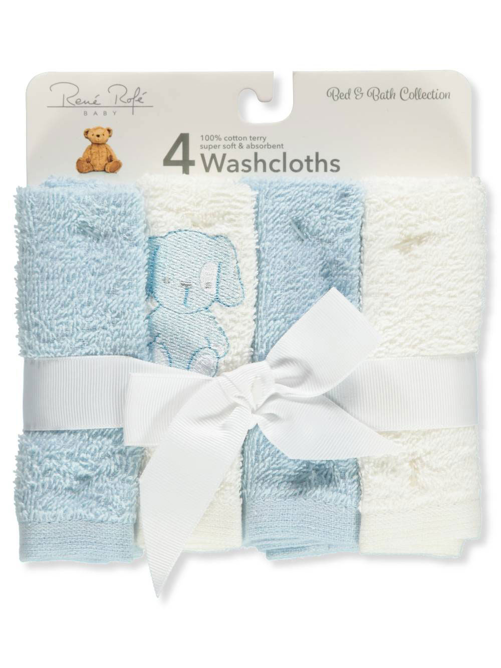 Rene Rofe 4-Pack Terry Washcloths by Rene Rofe