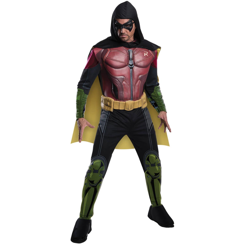Robin Arkham Adult Halloween Costume - Walmart.com