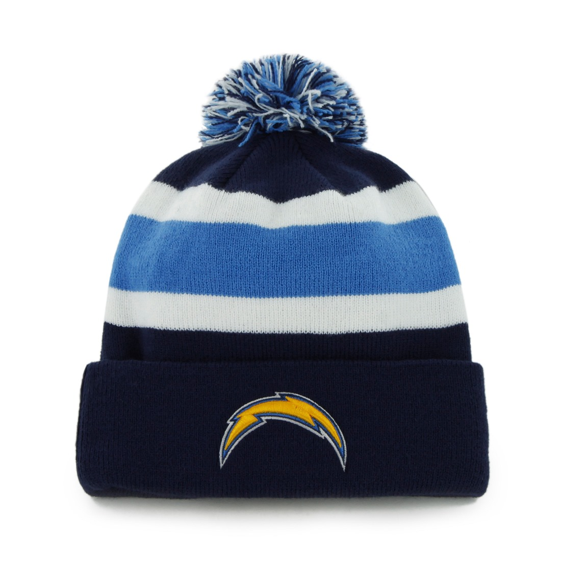 """San Diego Chargers 47 Brand NFL """"Breakaway"""" Cuffed Knit Hat - Navy"""