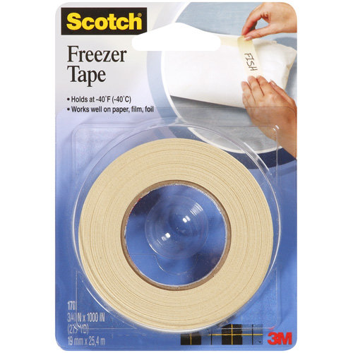 Scotch Freezer Tape, 27.7yd