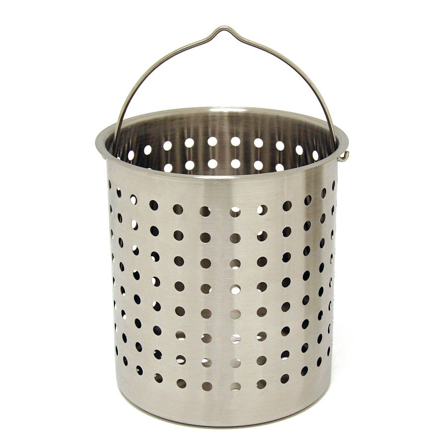 Bayou Classic Stainless Steel Perforated Baskets