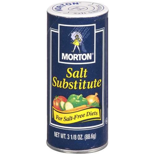 Morton Salt Substitute, 3.125 oz