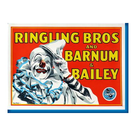 Ringling Brothers Circus Posters (Ringling Bros. Circus Clown Poster 16