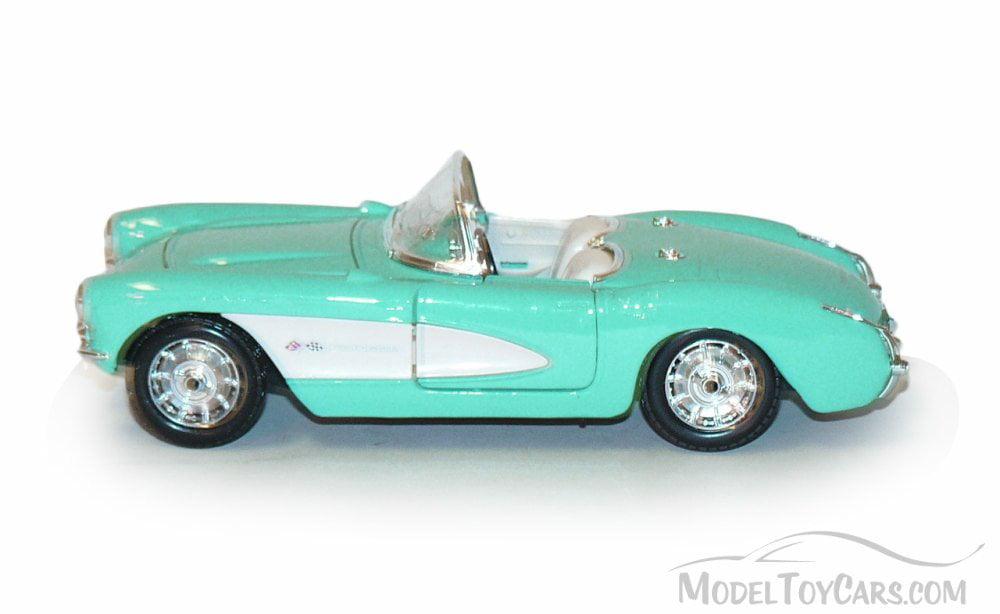 1957 Chevy Corvette Convertible Black Maisto 34275 1//24 Scale Diecast Model Car