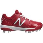 New Balance Kids 4040v5 Baseball (Little Kid/Big Kid) Red/White