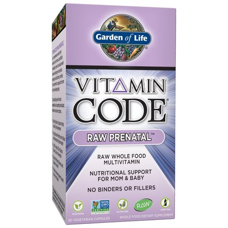 Garden of Life Vitamin Code Raw Prenatal 90