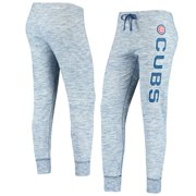 Chicago Cubs New Era Women's Space Dye French Terry Pant - Heathered Royal