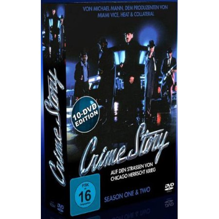 Crime Story (Series 1 & 2) - 10-DVD Box Set ( Crime Story - Series One and Two ) [ NON-USA FORMAT, PAL, Reg.0 Import - Germany ] (Halloween Movie Series Box Set)