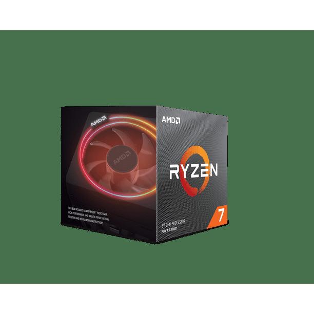 Amd Ryzen 7 3800x 8 Core 16 Thread 4 5 Ghz Am4 Processor Walmart Com Walmart Com