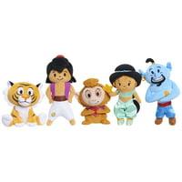 Walmart.com deals on 5 Pack Disney Aladdin Stylized Bean Plush
