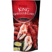 Premium Frozen Crab Legs and Claws 16 oz