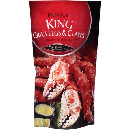 Premium Frozen Crab Legs and Claws 16 oz (Difference Between Snow Crab And King Crab)