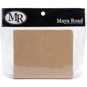"Maya Road Chipboard Binder 4"" x 5"", (6) 3"" x 4.5"" Pages"