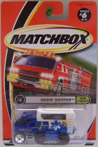 2001 Snow Doctor -#6 of 75 Team Tundra, By Matchbox from USA by