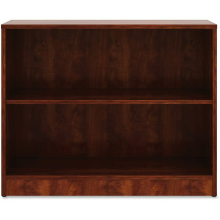 Lorell, LLR99779, Cherry Laminate Bookcase, 1 Each, Cherry