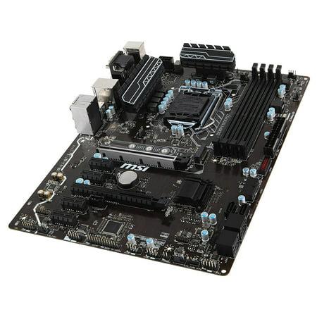 Refurbished MSI Z270-A PRO Intel Z270 Socket 1151 ATX Motherboard w/DisplayPort RAID GbLAN
