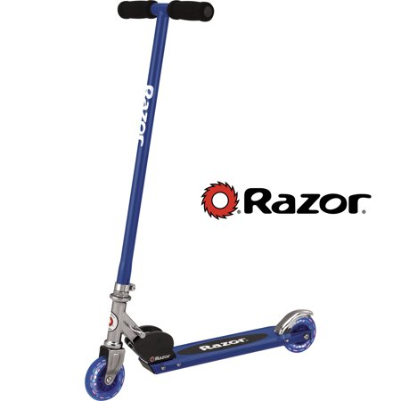 Razor Folding S Scooter with Lighted Wheels (Scooter Wizard Lights)