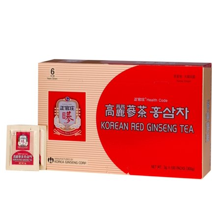 Korean Ginseng Tea - Korea Ginseng Corp - Korean Red Ginseng Tea - 100 Pack(s)