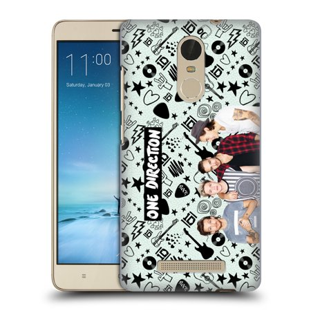 Official One Direction Group Photo Doodle Icon Hard Back Case For Xiaomi Phones