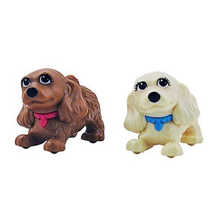 Replacement Puppies for Barbie Slide & Spin Pups Playset