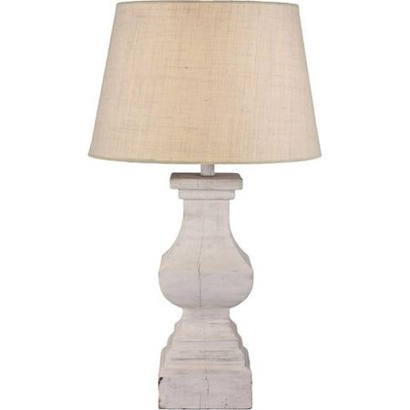 kenroy home fantail table lamp antique white. Black Bedroom Furniture Sets. Home Design Ideas