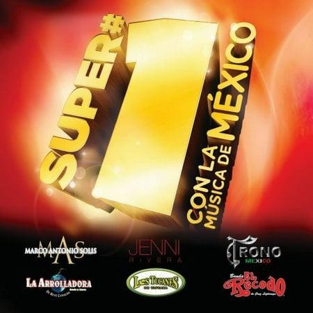 Super #1's-Con La Musica De Mexico - Super #1's-Con La Musica De Mexico [CD] - Temas De Halloween Musica