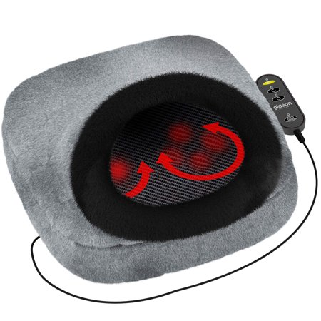 Gideon Shiatsu heated Foot Massager Converts to Back And Seat