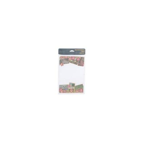 hawaii 8 count imprintable stationery sheets - Pack of 24