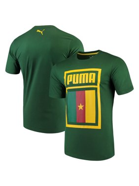 8112fc0b114 Product Image Cameroon National Team Puma Forever Football Country Cotton T- Shirt - Green