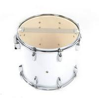 LYUMO 14 x 10 inches Marching Drum Drumsticks Key Strap White Musical Instrument Accessories, Music Playing Accessories, Drumsticks