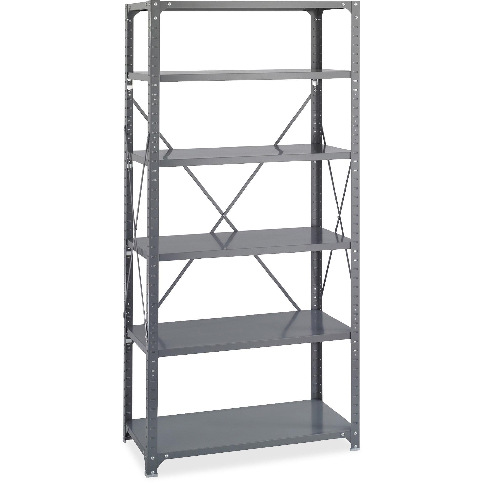 Safco, SAF6269, Commercial Shelf Kit, Dark Gray