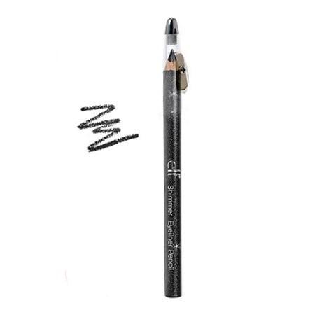 E L F  Cosmetics Shimmer Eyeliner Pencil  Black Bandit  0 05 Oz