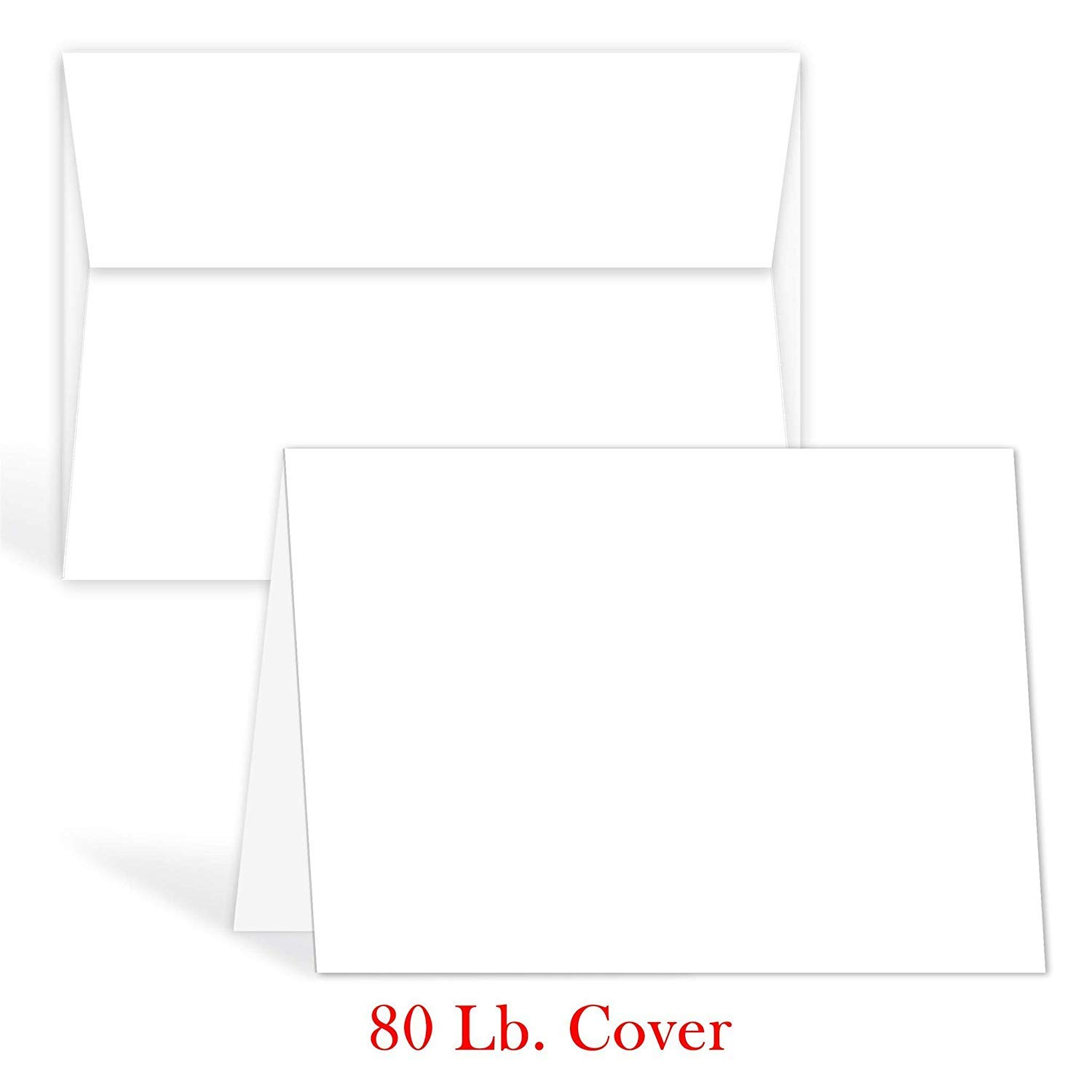 NEW CARD MAKING VALUE PACK OF IVORY BLANK CARDS /& MATCHING ENVELOPES 25 of each!