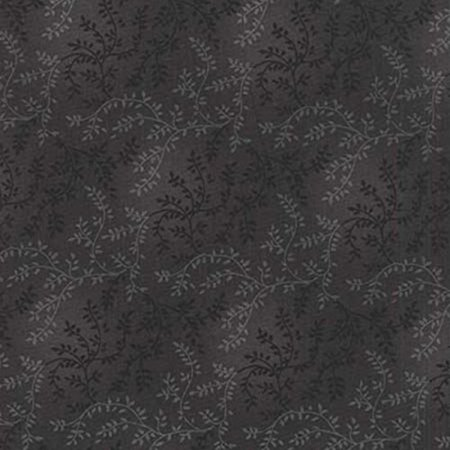 Choice Fabrics 108 Inch Quilt Back Mottle Vine Charcoal Grey, Sold by the yard. By Hancocks of Paducah ()