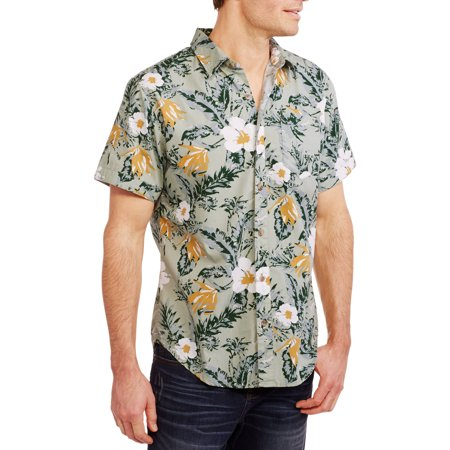Blue Pointe Mens Short Sleeve Woven Haw
