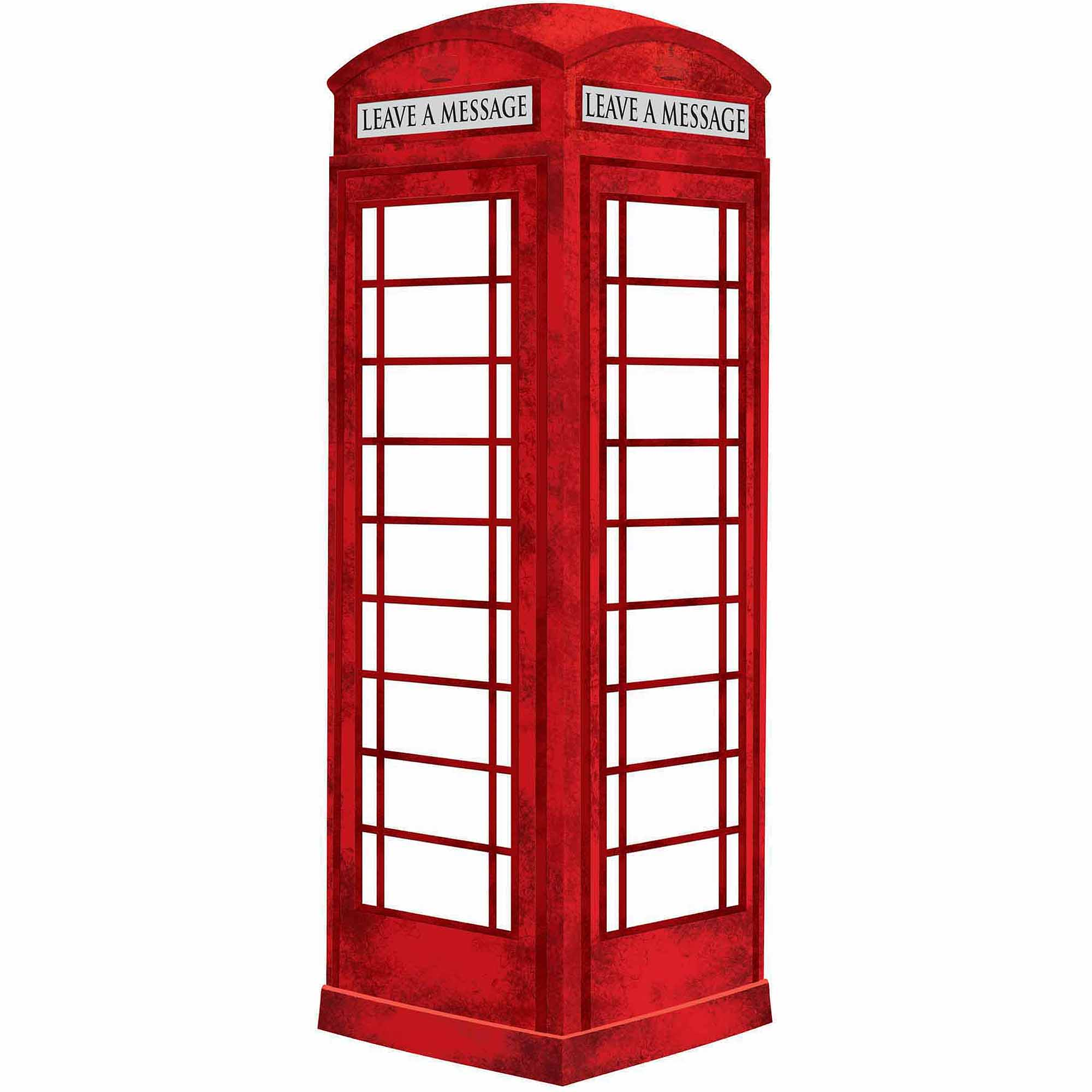 WallPops Dry Erase London Phone Booth Message Board Decal ...
