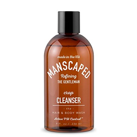 Mens invigorating Body Wash, with Vitamins by Manscaped - the Crop Cleanser (Body Wash Cleanser)