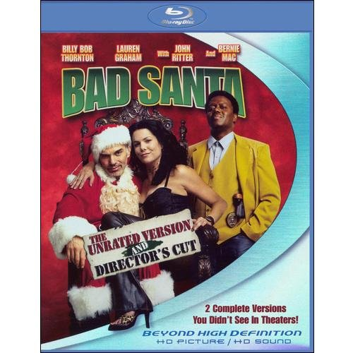 Bad Santa (Director's Cut) (Unrated/Rated) (Blu-ray) (Widescreen)