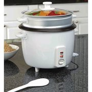 Gravitti 20-Cup Rice Cooker with Steamer