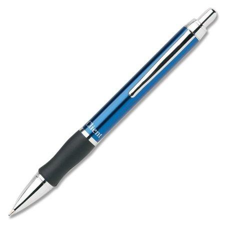 Pentel Client Ballpoint Pen - Medium Pen Point Type - 0.5 Mm Pen Point Size - Black Ink - Blue Barrel - 1 Each Each (BK910CA)